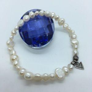 SILPADA Freshwater Pearl Stretch Bracelet